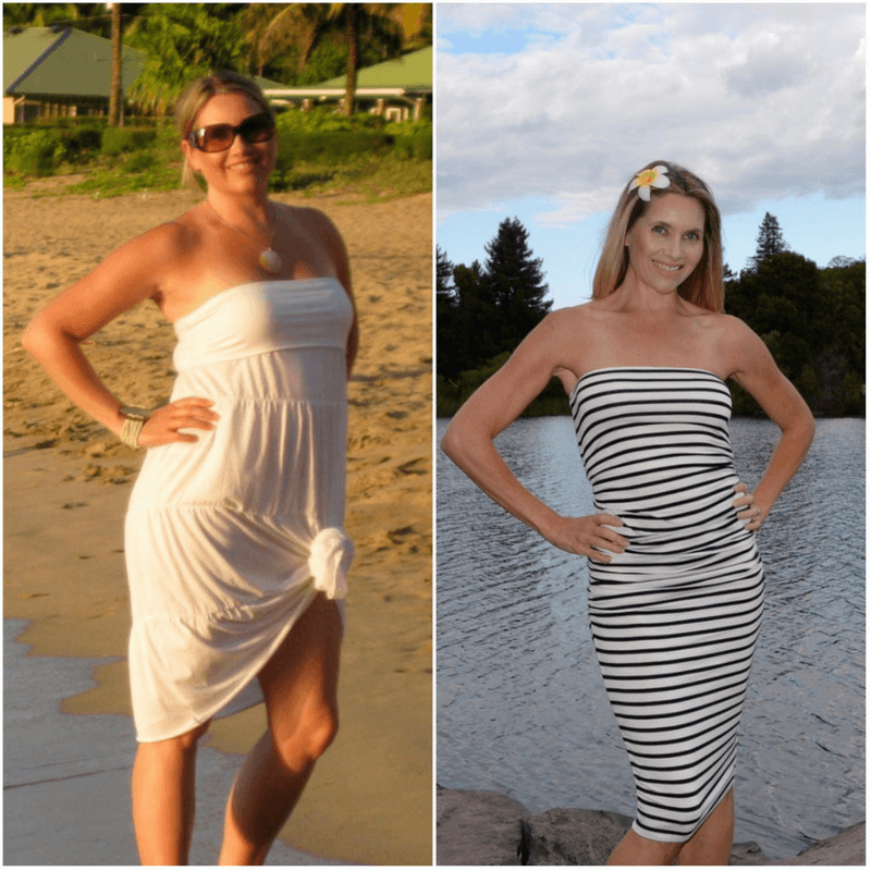 Summer Peterson before and after weight loss expert